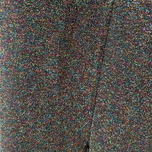 Metallic knit jumpsuit